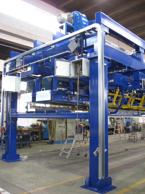 Aluminium Plate Stacker