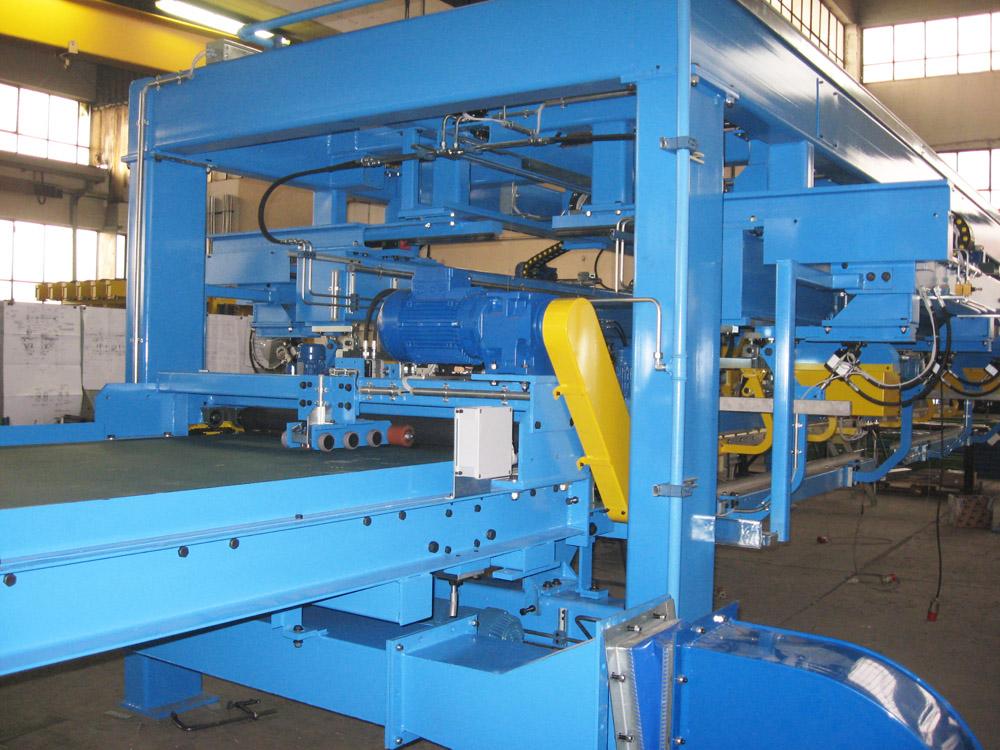 Steel Sheet Stacking System 2 X 3000mm 1 X 6000mm Sheet