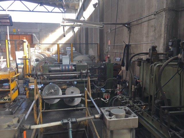 A 600mm X 3mm 100m Min Used Carbon Steel Loop Slitting