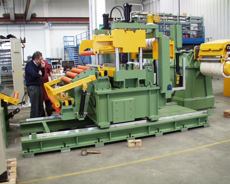 Slitting Line 610mm X 2mm Slitting Lines Sll Floreani